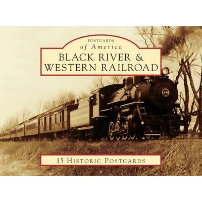 Black River & Western Railroad (Postcard book or pack): Jerry J Jagger