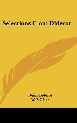 Selections from Diderot (Hardcover): Denis Diderot