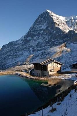 North Face of Eiger Mountain in Switzerland Journal - 150 Page Lined Notebook/Diary (Paperback): Cool Image