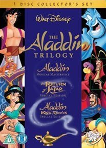 Aladdin Trilogy (English & Foreign language, DVD, Collector's Edition): Robin Williams, Scott Weinger, Linda Larkin,...