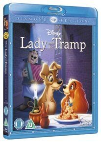 Lady and the Tramp (English, Spanish, Blu-ray disc): Peggy Lee, Barbara Luddy, Bill Thompson, Bill Baucon, Verna Felton, Stan...