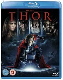 Thor (English & Foreign language, Blu-ray disc): Natalie Portman, Kat Dennings, Chris Hemsworth, Anthony Hopkins, Clark Gregg,...