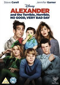 Alexander and the Terrible, Horrible, No Good, Very Bad Day (English, Spanish, DVD): Kerris Dorsey, Steve Carell, Megan...