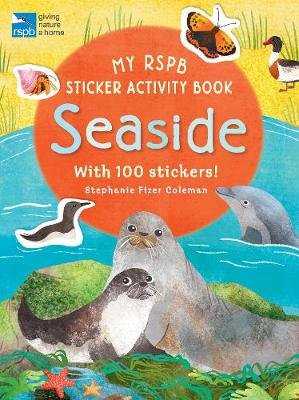 My RSPB Sticker Activity Book: Seaside (Paperback): Stephanie Fizer Coleman