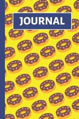 Journal - Yellow Doughnut Journal / Notebook for Kids to Write in (Paperback): Colorful Creations Co