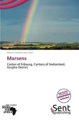 Marsens (Paperback): Gitta Mariam Chandra