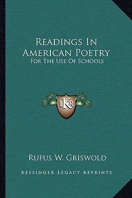 Readings in American Poetry - For the Use of Schools (Paperback): Rufus W Griswold