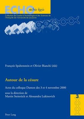 Autour de La Cesure - Actes Du Colloque Damon Des 3 Et 4 Novembre 2000 (English, French, Italian, Paperback): Francois...
