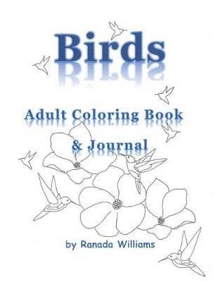 Birds Adult Coloring Book (Paperback): Ranada Williams