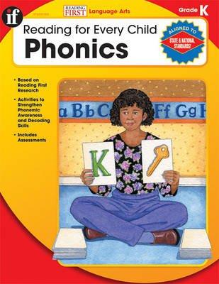 Phonics, Grade K (Paperback): Linda Armstrong
