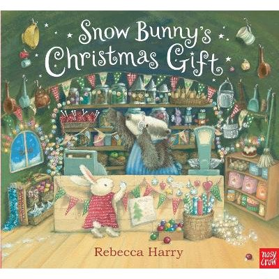 Snow Bunny's Christmas Gift (Hardcover): Rebecca Harry
