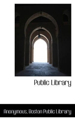 Public Library (Paperback): Anonymous