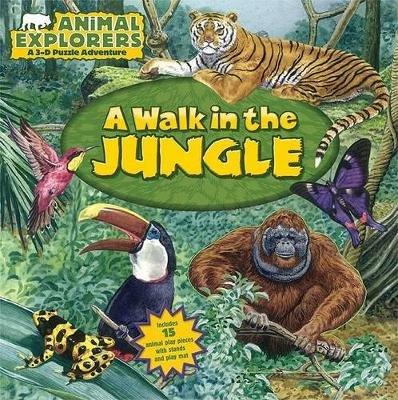 A Walk in the Jungle (Board book): Dorothea Deprisco