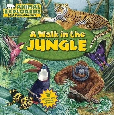A Walk in the Jungle (Board book): Dorothea Deprisco