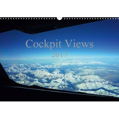 Cockpit Views 2017 - Stunning Pictures from the Pilot's Seat (Calendar, 3rd Revised edition): Cyrus Sadri