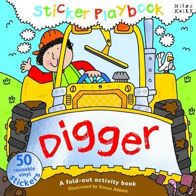 Digger Sticker Playbook (Spiral bound): Belinda Gallagher
