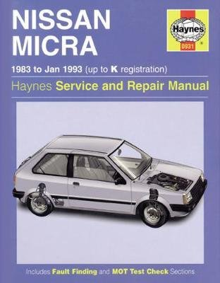 Nissan Micra (83 - Jan 93) Up To K (Hardcover, New ed of 5 Revised ed of): Haynes Publishing