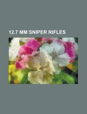12 7 MM Sniper Rifles - Accuracy International As50