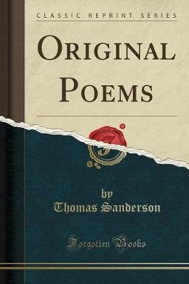 Original Poems (Classic Reprint) (Paperback): Thomas S. Anderson