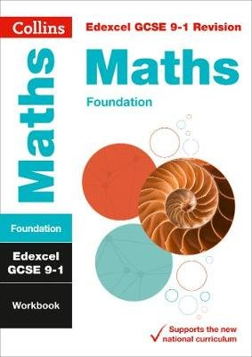 Edexcel GCSE 9-1 Maths Foundation Workbook - For the 2020 Autumn & 2021 Summer Exams (Paperback): Collins Gcse