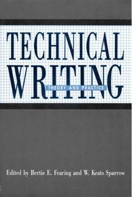 Technical Writing (Hardcover, New): Bertie E. Fearing