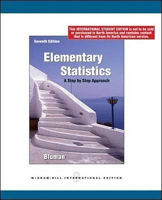 Elementary Statistics A Step By Step Approach With Formula Card