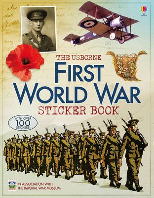 First World War Sticker Book (Paperback):