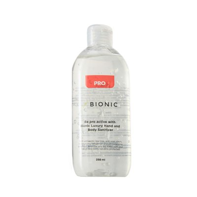 Bionic Pro Luxury Hand & Body Moisturising Sanitizer. Non-Sticky Sanitising Gel with Essential Oils. Luxury Quality Perfect for...