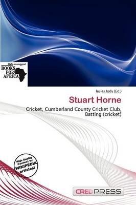 Stuart Horne (Paperback): Iosias Jody