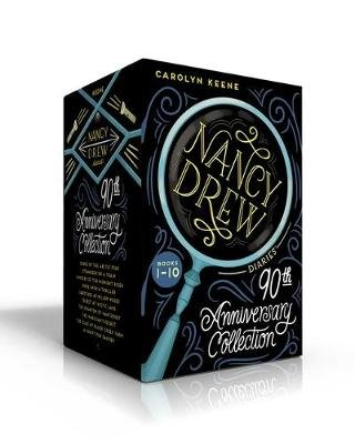 Nancy Drew Diaries 90th Anniversary Collection (Paperback, Boxed set, Boxed Set): Carolyn Keene