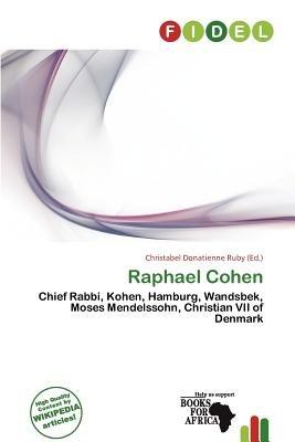 Raphael Cohen (Paperback): Christabel Donatienne Ruby