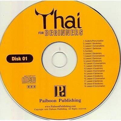 Thai for Beginners (CD): Benjawan Poomsan Becker
