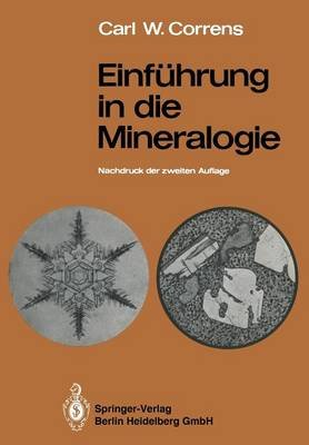 Einfuhrung in Die Mineralogie - Kristallographie Und Petrologie (German, Paperback, 2nd 2. Aufl. 1968. Softcover Reprint of the...