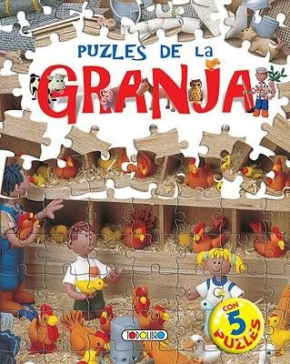 Puzles de la Granja (Spanish, Board book): Manuela Martin