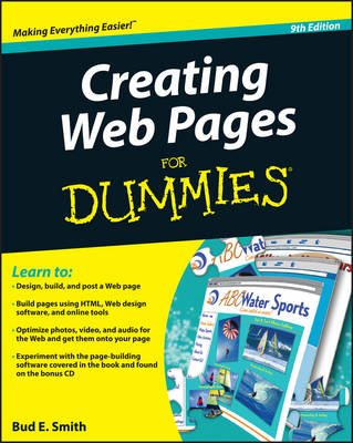 Creating Web Pages For Dummies (Electronic book text, 9th Revised edition): Bud E. Smith