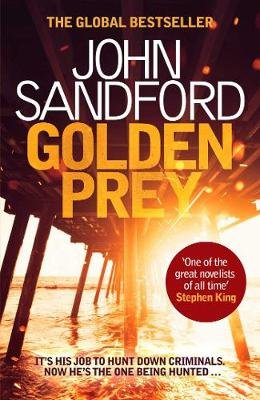 Golden Prey (Hardcover, Library Edition): John Sandford