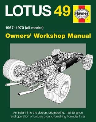 Lotus 49 Manual (Hardcover): Ian Wagstaff