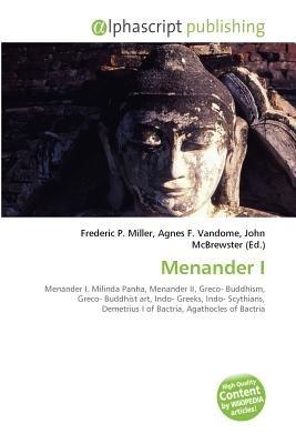 Menander I (Paperback): Frederic P. Miller, Vandome Agnes F., McBrewster John