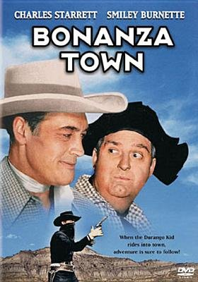 Bonanza Town (Region 1 Import DVD): Charles Starrett, Smiley Burnette