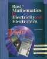 Basic Mathematics for Electricity and Electronics (Hardcover, 8th ed.): Bertrand B. Singer, Harry Forster, Mitchel E. Schultz
