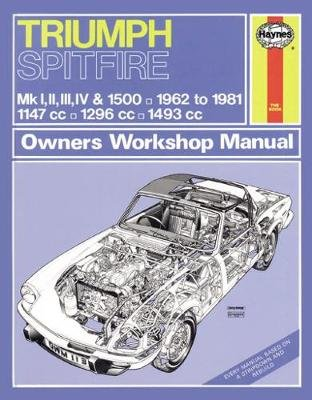 Triumph Spitfire Owner's Workshop Manual (Paperback): Haynes Publishing