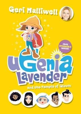 Ugenia Lavender Temple of Gloom (Paperback, Unabridged): Geri Halliwell