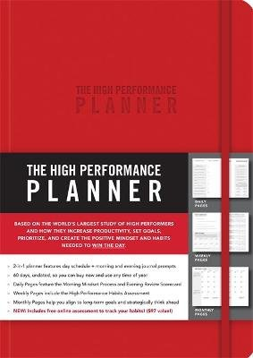 The High Performance Planner (Paperback): Brendon Burchard