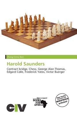 Harold Saunders (Paperback): Zheng Cirino