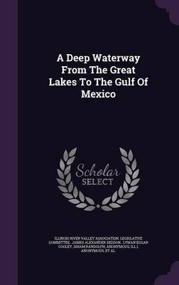 A Deep Waterway from the Great Lakes to the Gulf of Mexico (Hardcover): Illinois River Valley Association Legis, James...