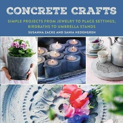 Concrete Crafts Simple Projects From Jewelry To Place Settings