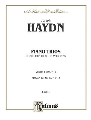 Trios for Violin, Cello and Piano, Vol 2 - Nos. 7-12 (Paperback):