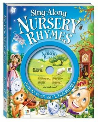 Sing Along Nursery Rhymes Book And Cd Hardcover
