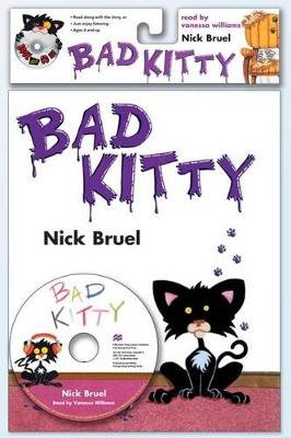 Bad Kitty (Paperback, Book & CD Set): Nick Bruel