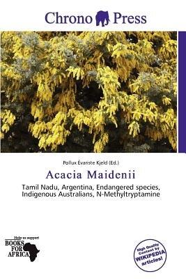 Acacia Maidenii (Paperback): Pollux Variste Kjeld
